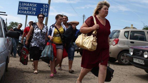 беженцы в Украине