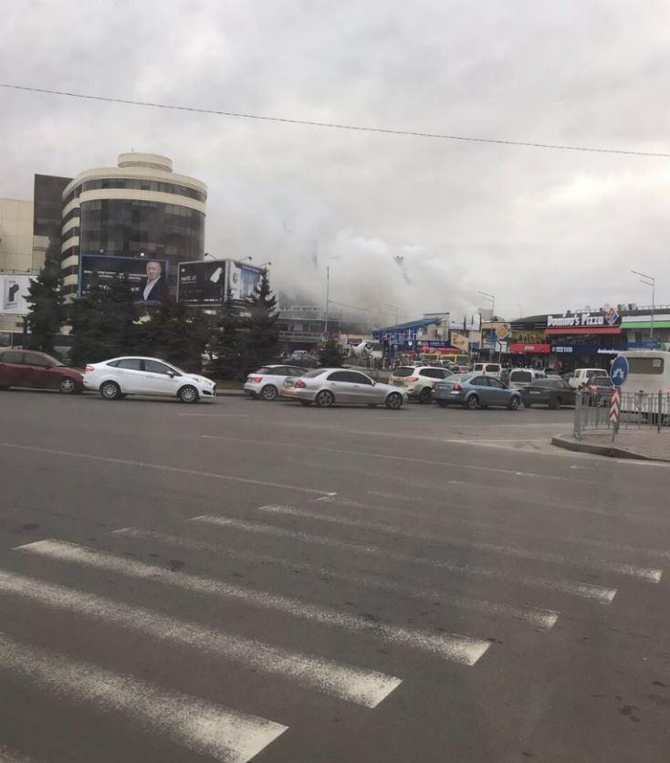 горит Киев