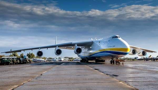 самолёт Мрия АН-225