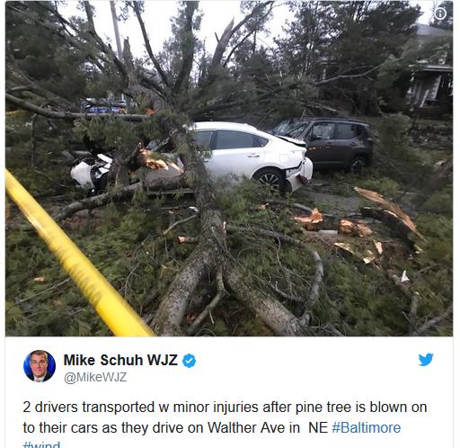 шторм в Америке