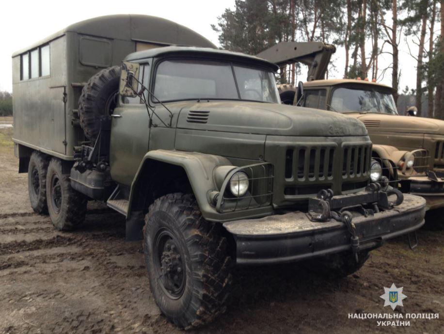 ВЖитомирской области раскрыли схему хищения военной техники