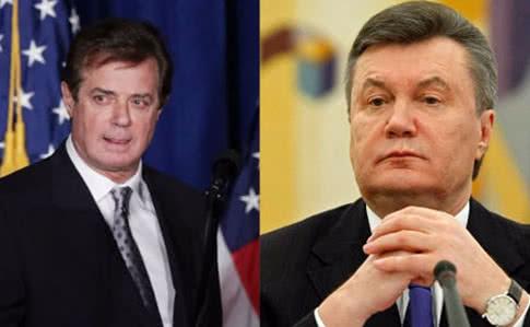 Янукович поведал оличных контактах сМанафортом