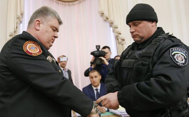 Бочковский задержание