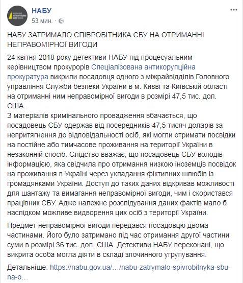 Судью Голосеевского райсуда Киева поймали на взятке (фото) [ Редактировать ]