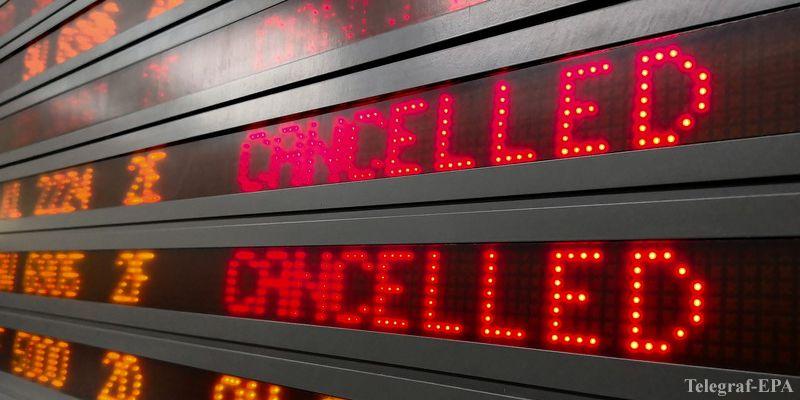 Авиакомпания Air France отменила 30% рейсов из-за забастовки