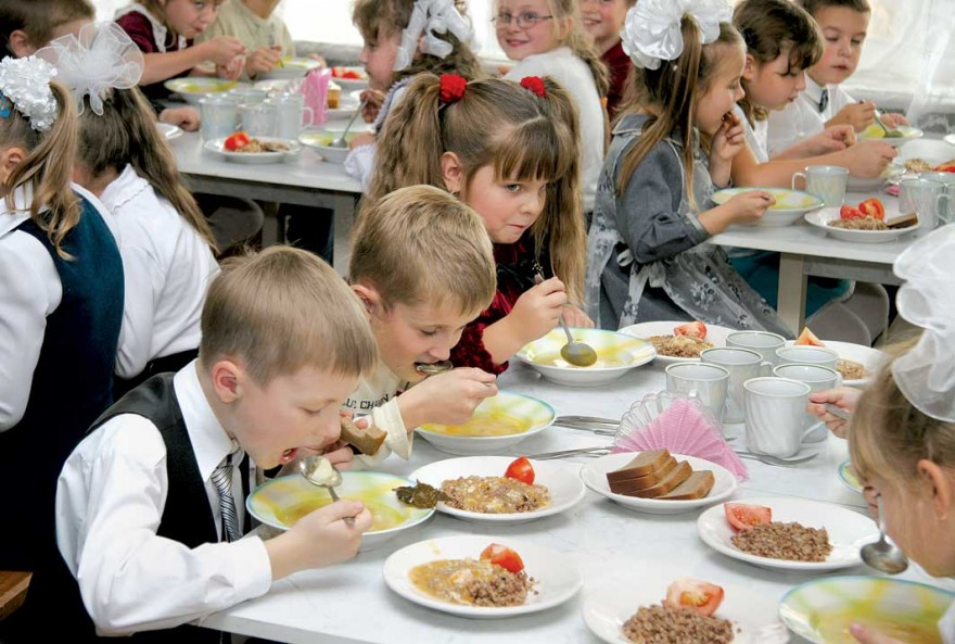 питание школьников