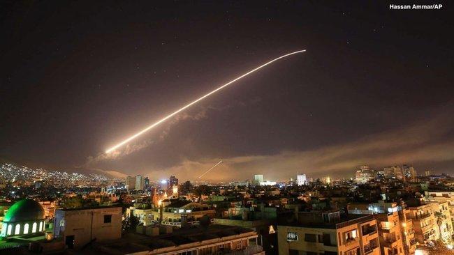 Сирия удар