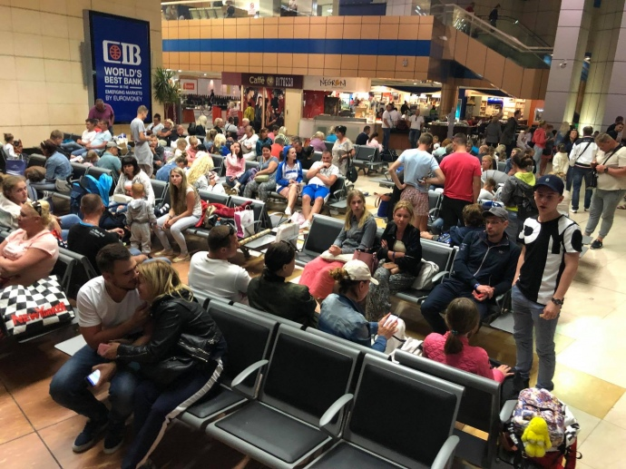 ИзЕгипта на отчизну вылетели 705 украинцев— МИД