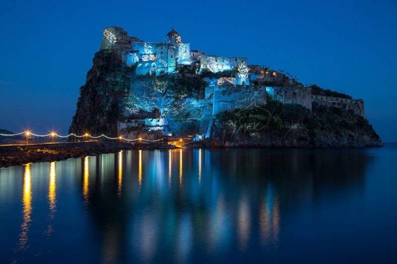 Арагонский замок, остров Искья, Кампания