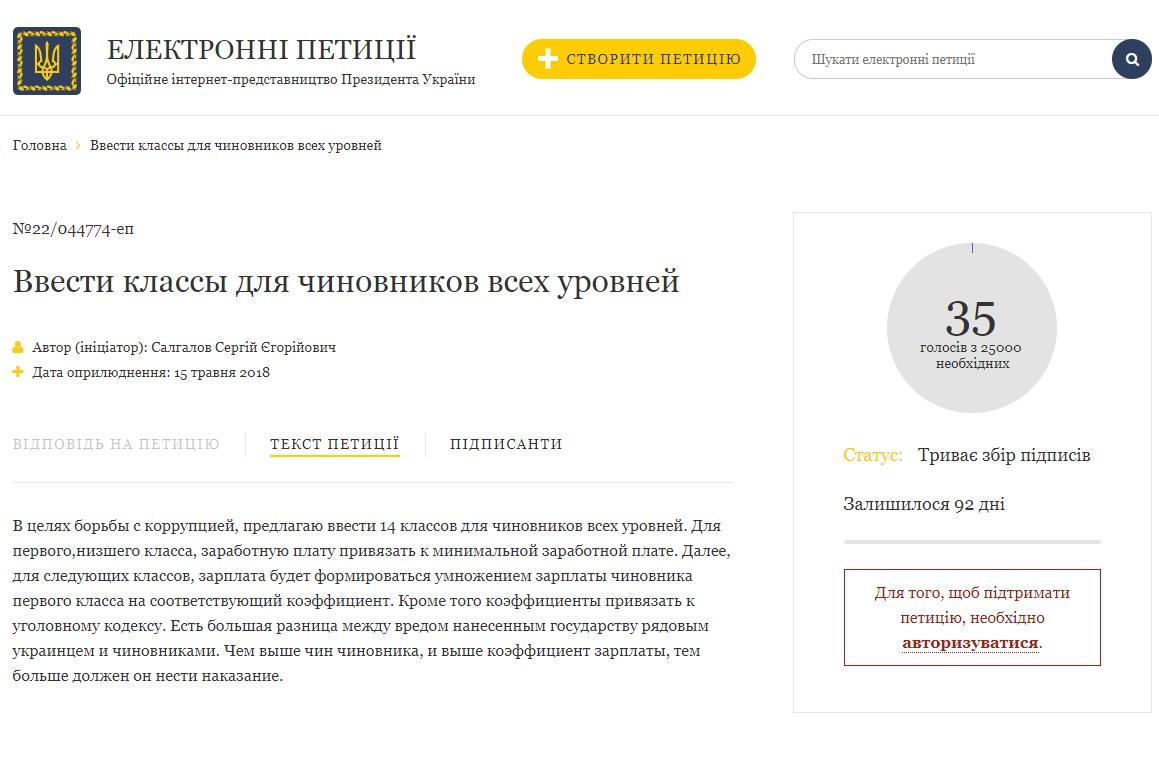 электронная петиция