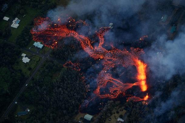 Гавайи извержение вулкана