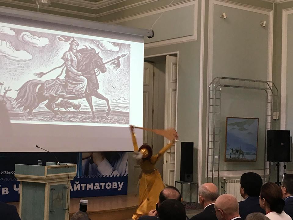 киргизские танцы
