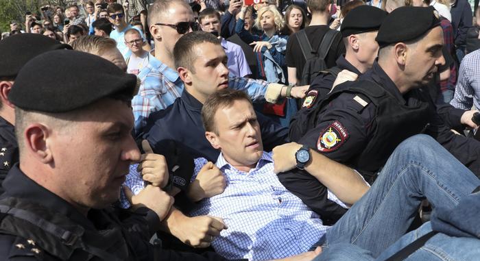 навальный полиция