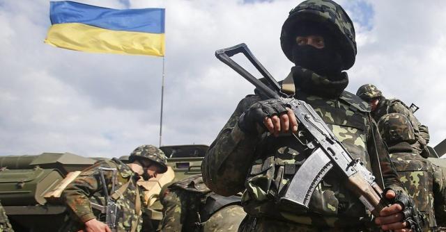 ООС украинские военный