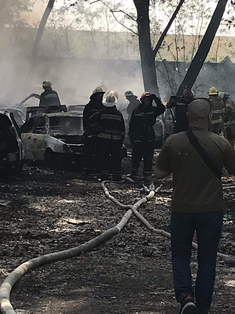 пожар Столичное шоссе