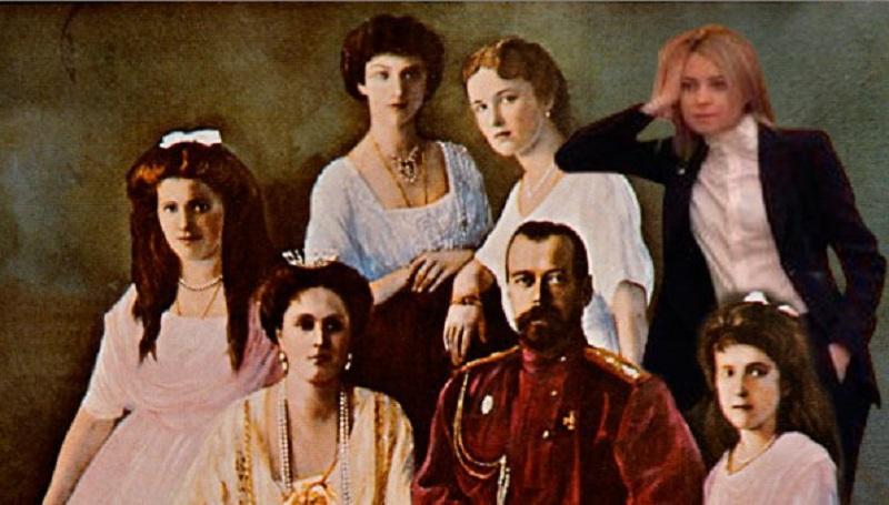 поклонская и Николай ІІ