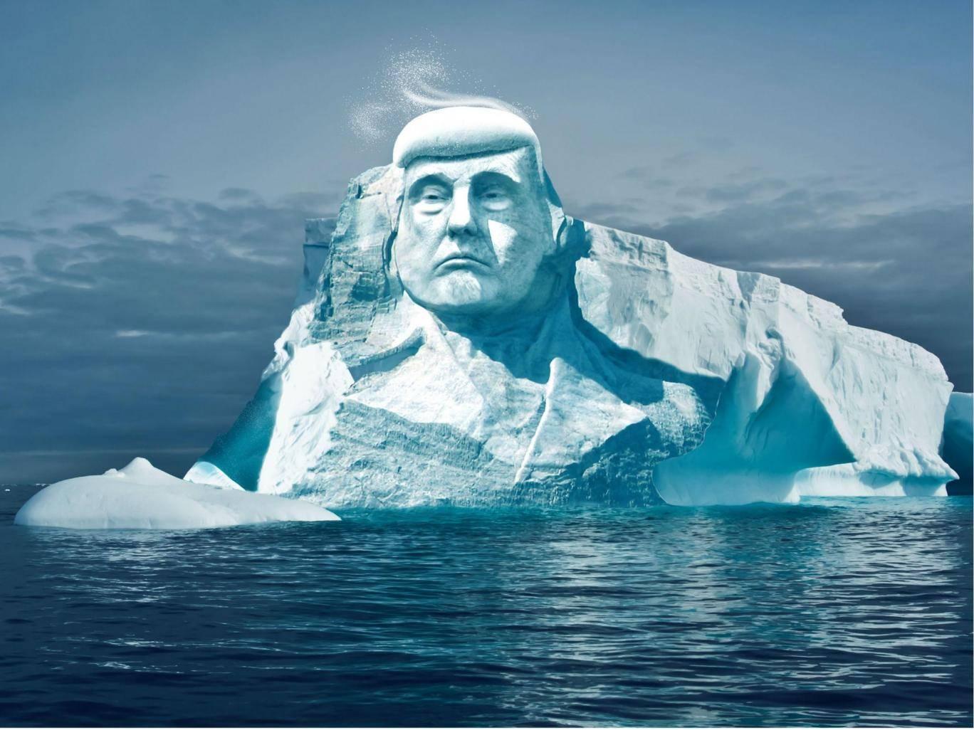 Трамп ледник