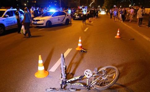 авария полицейская машина