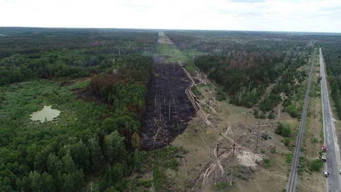Чернобыль пожар.
