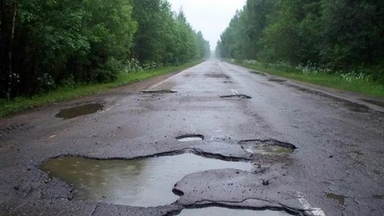 дороги в украине
