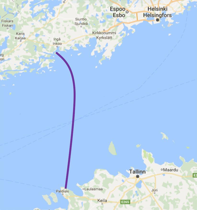 газопровод Финляндии