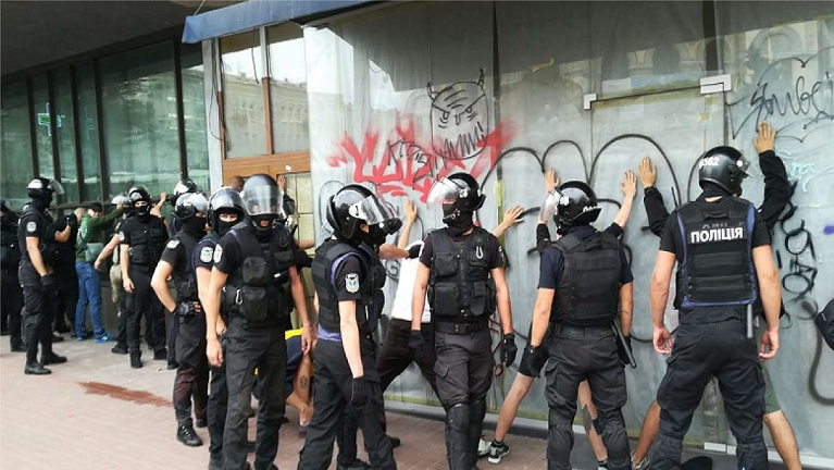марш полиция