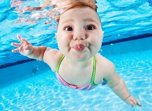 плавание дети