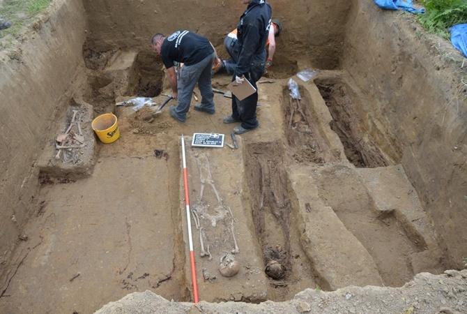 Раскопки в Грушовичах