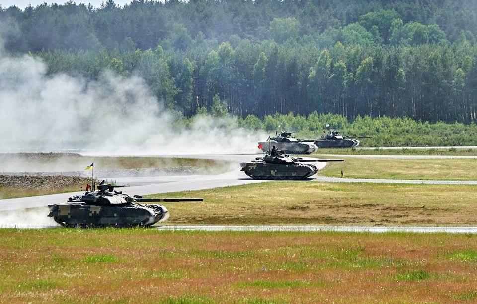 Танковые соревнования