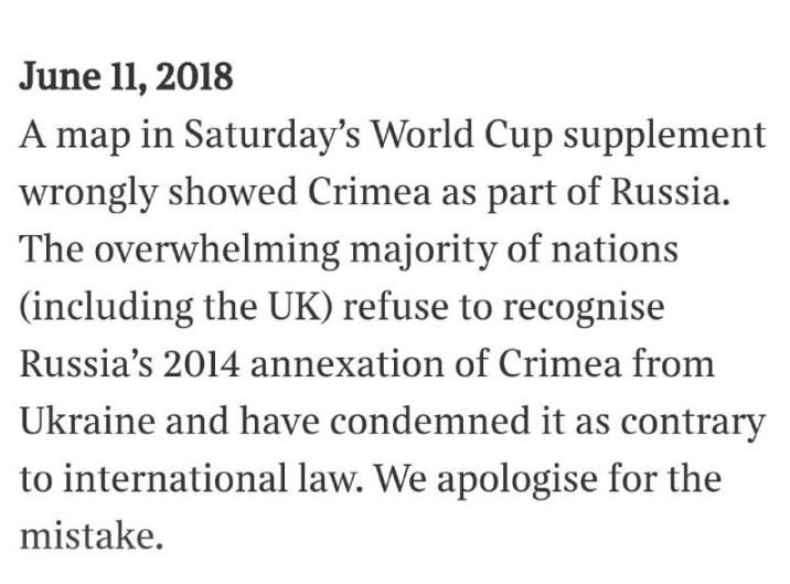 Times извинились