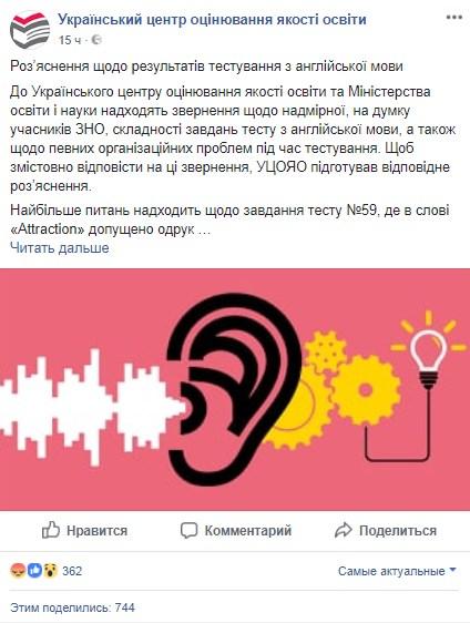 Украинский центр оценивания