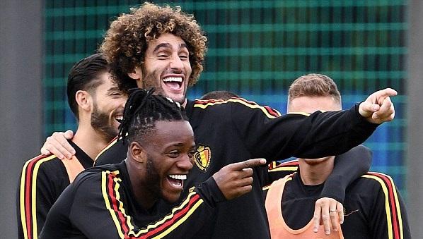 Бельгия тренировка