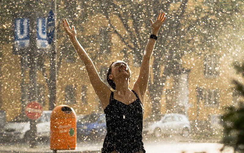 дождь и жара