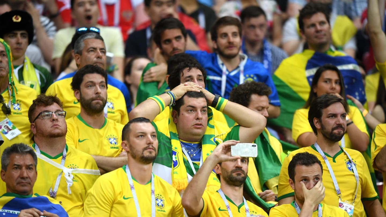 фаны Бразилии