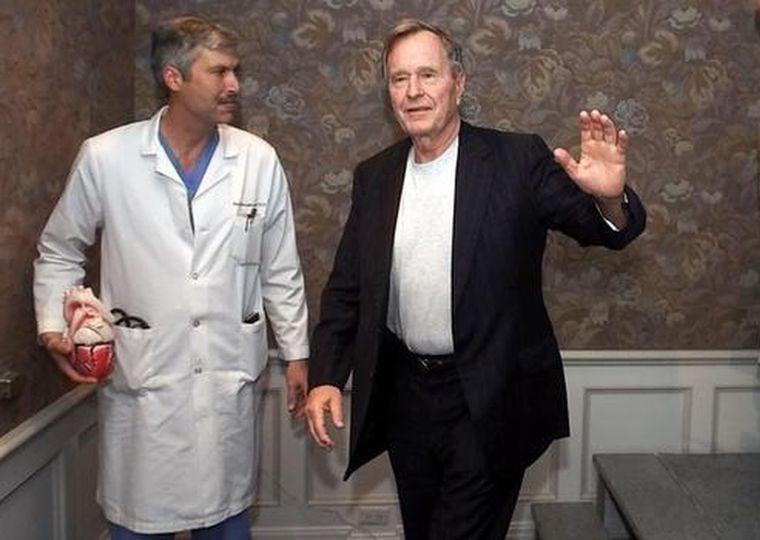 кардиолог Джорджа Буша