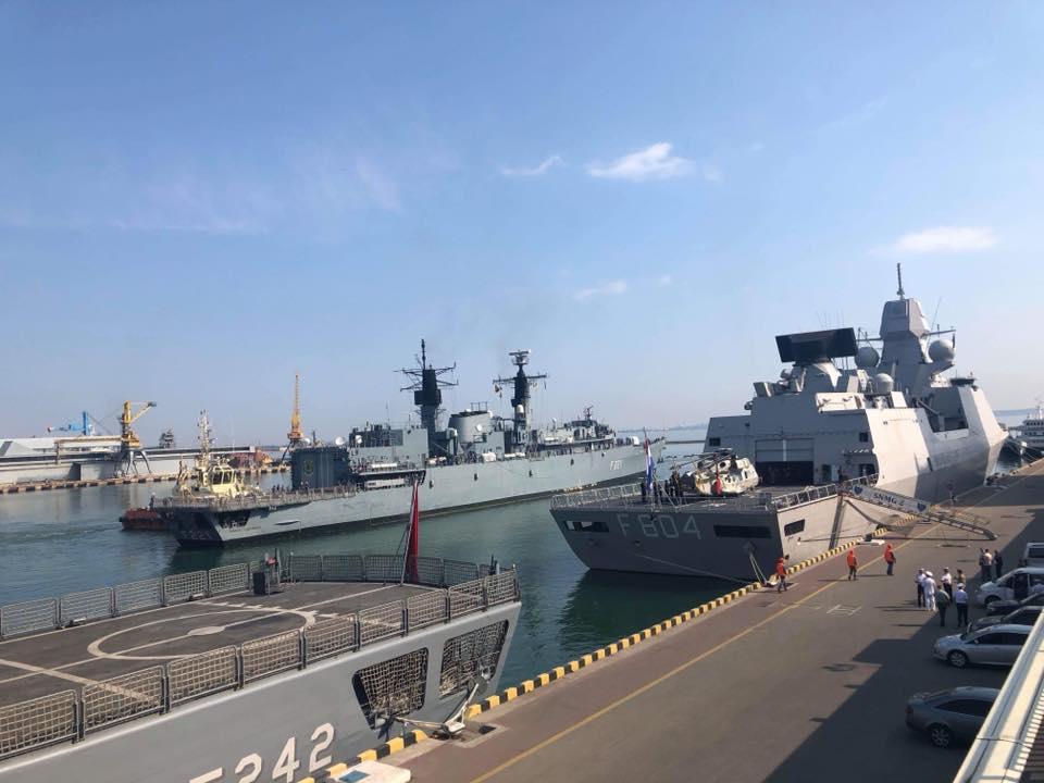 Корабли НАТО Одесса