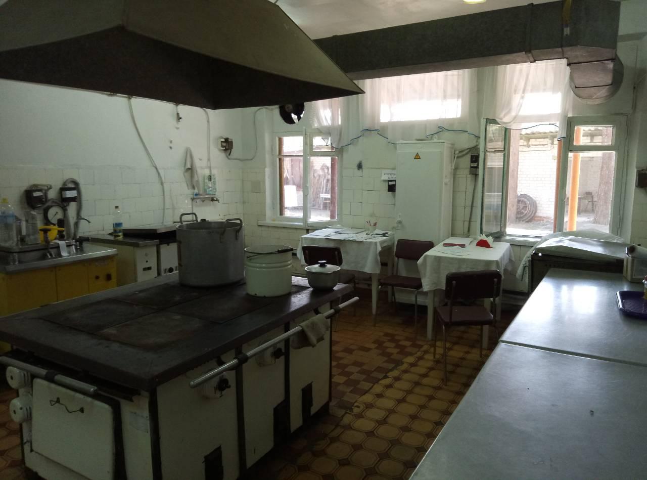 кухня лагерь