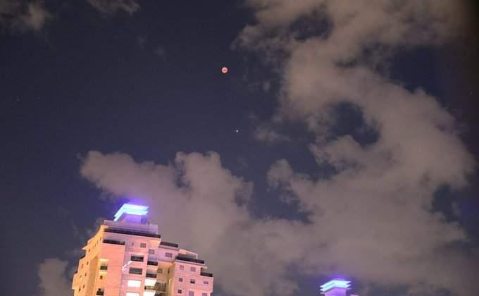 лунное затмение фото