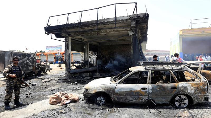 Терракт в афганистане