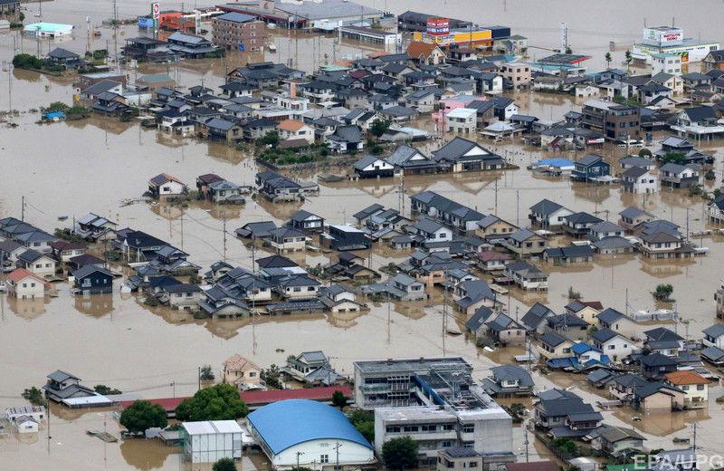 япония наводнение.