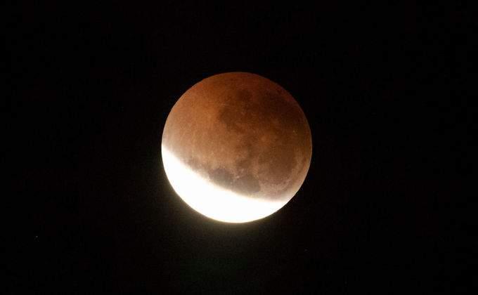 затмение луны фотик