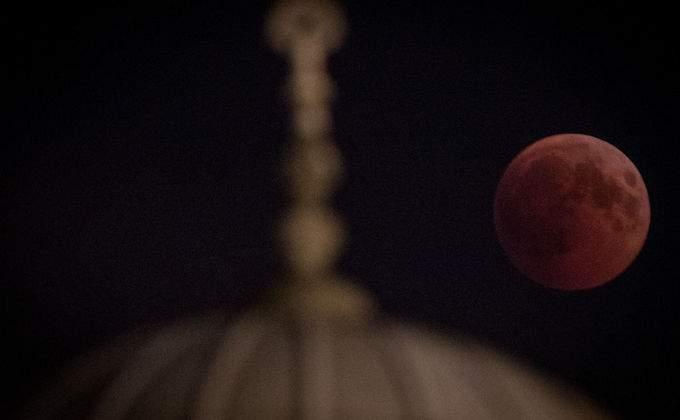 затмение луны фото