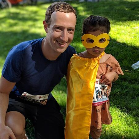 Цукерберг с семьей