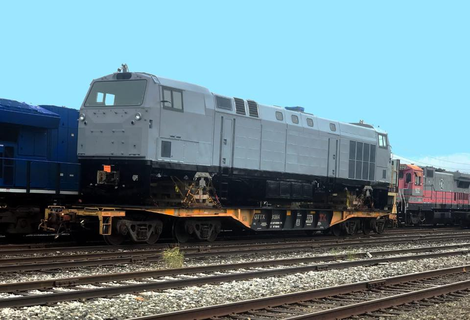 локомотив GE