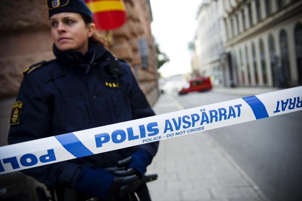 Полиция Швеция