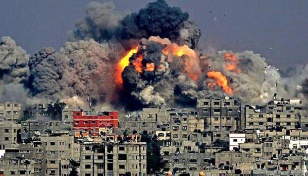 бомбардировка в сирии