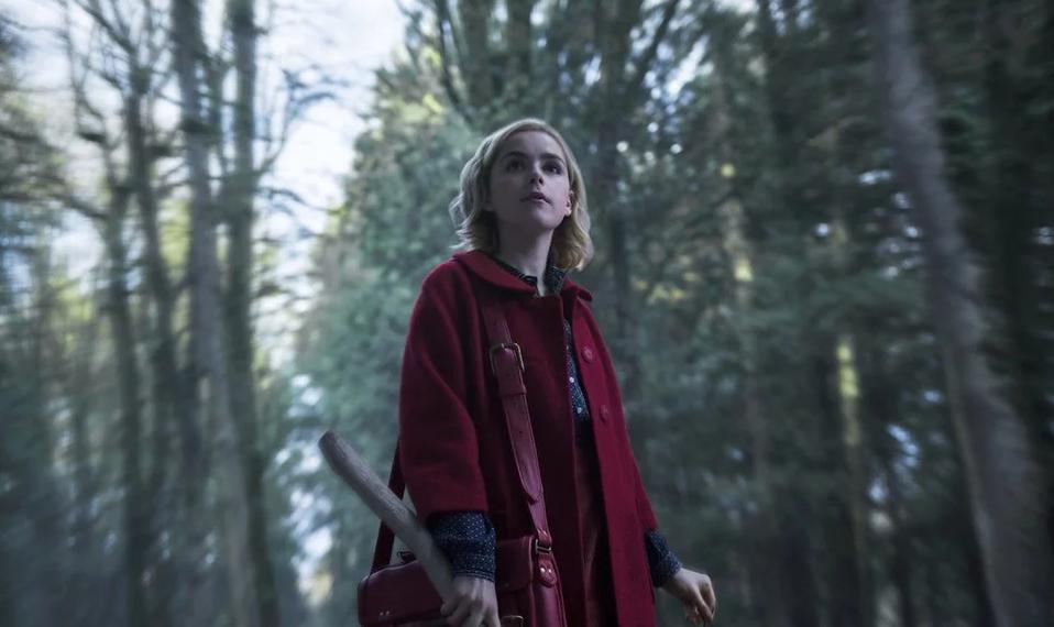 кадр из сериала о Сабрине