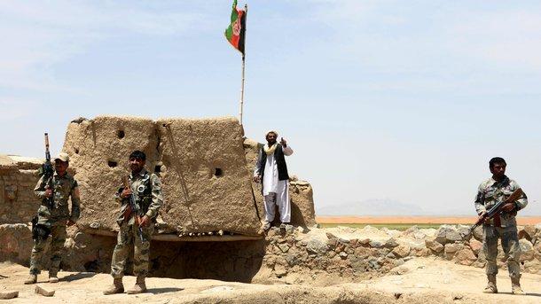 Ответственность за убийство американского военного взяли талибы