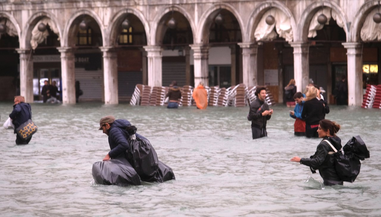 бедствие венеция