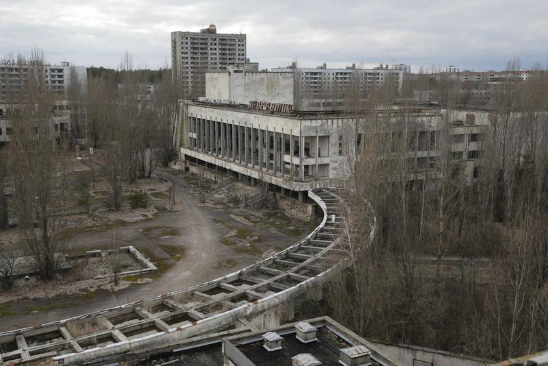чернобыль зона